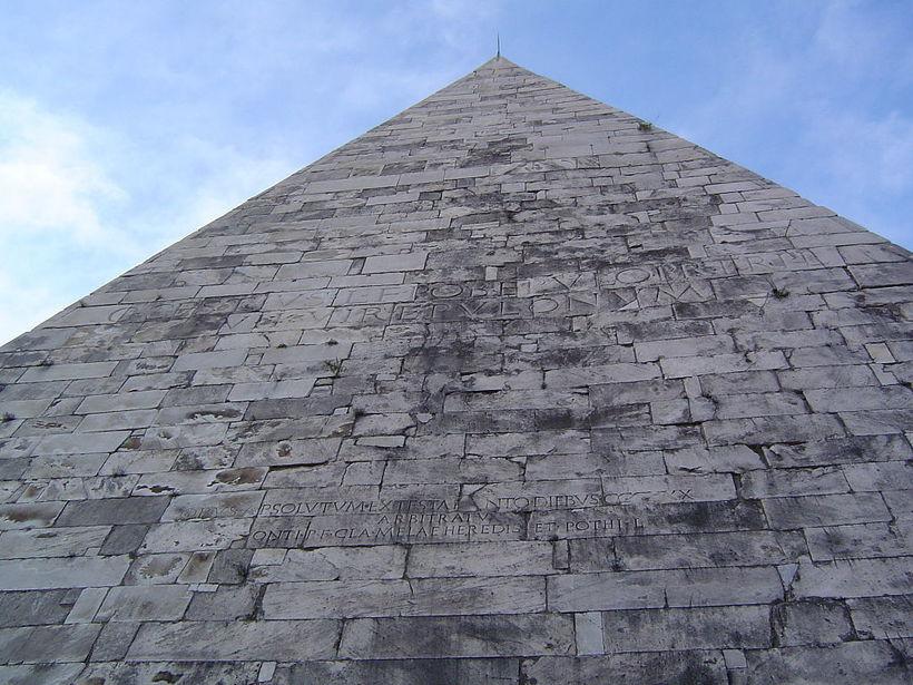Пирамида Цестия: зачем в Древнем Риме строили пирамиды