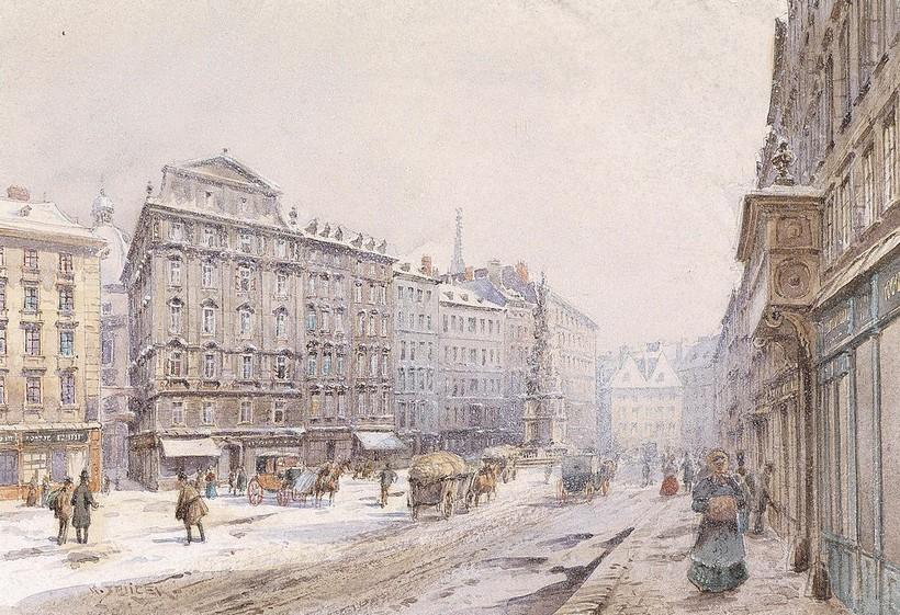 Венская акварель начала 19 века