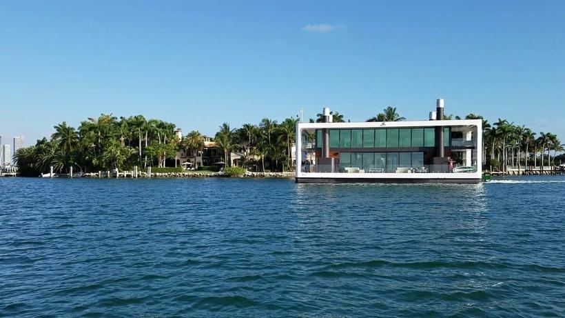 Самый удивительный дом: особняк-яхта, на которой можно отправиться в плавание
