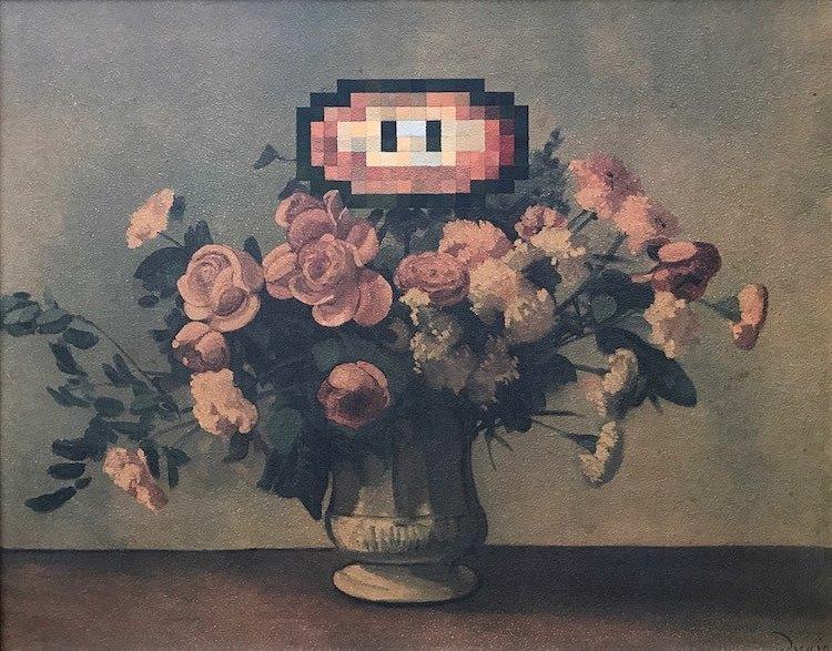 Художник покупает старые картины и превращает их в сокровища современной поп-культуры