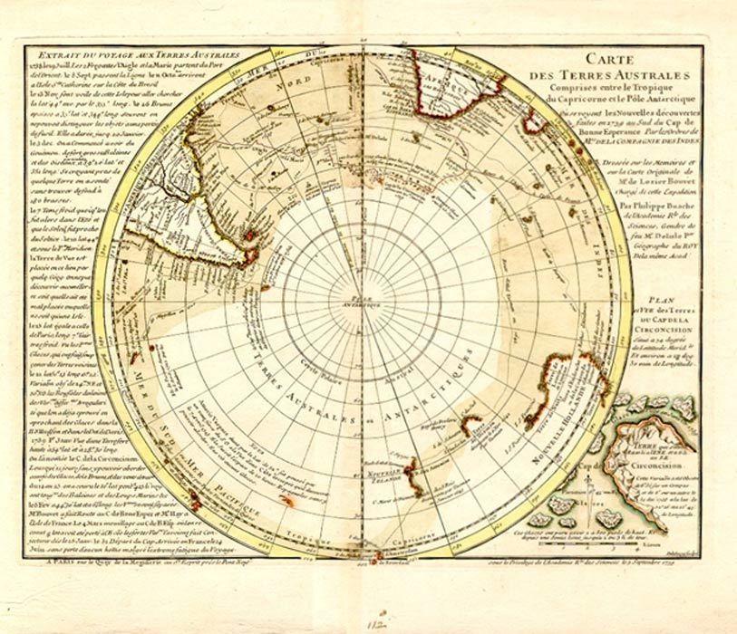 Карта Филиппа Бюаша