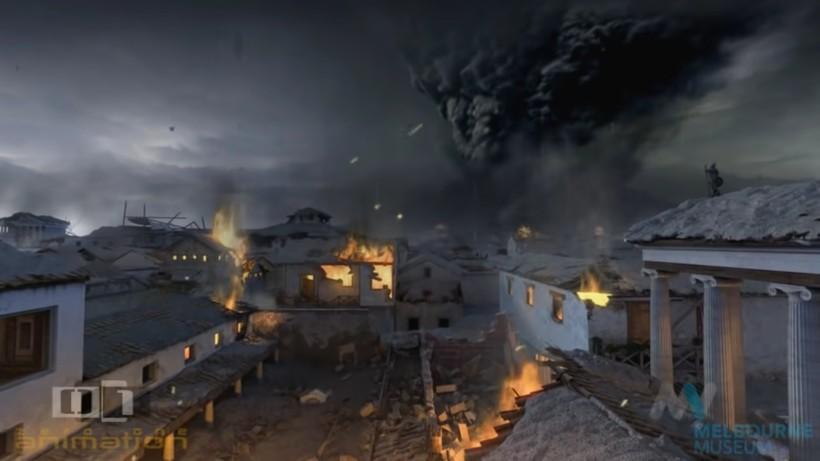Видео: Каким был последний день Помпеи — полнометражная анимация