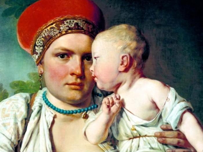 Кормилица — символ здоровья и материнства