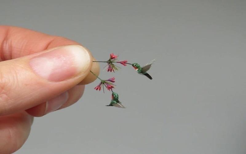 Мир в миниатюре: венгерская художница создает крошечные копии животных