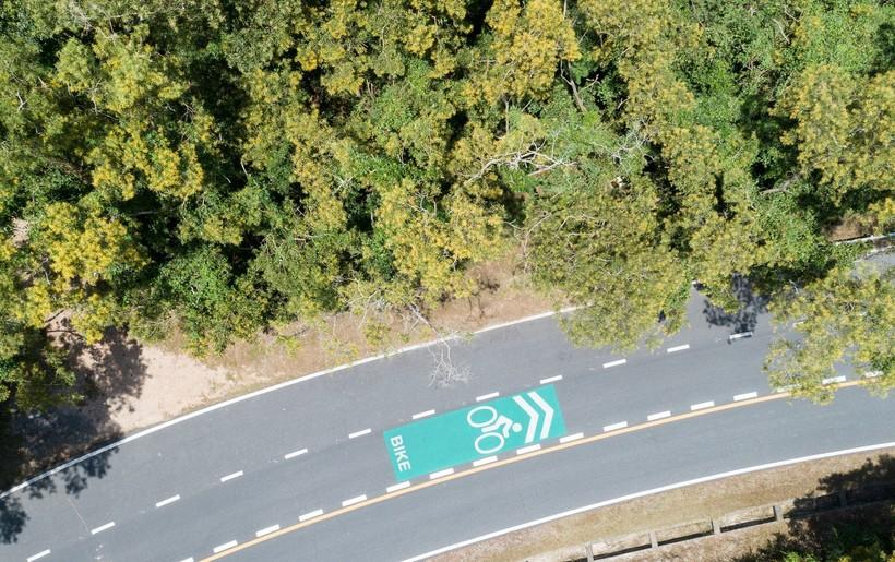 В США открыли более 800 километров новых велосипедных трасс