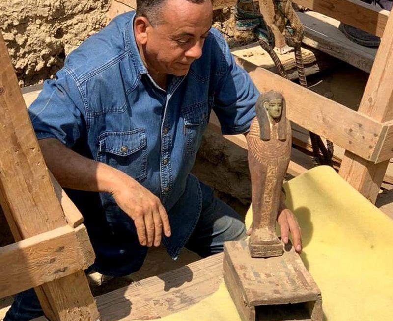 27 древних саркофагов обнаружили в древнеегипетской Саккаре, и это только начало