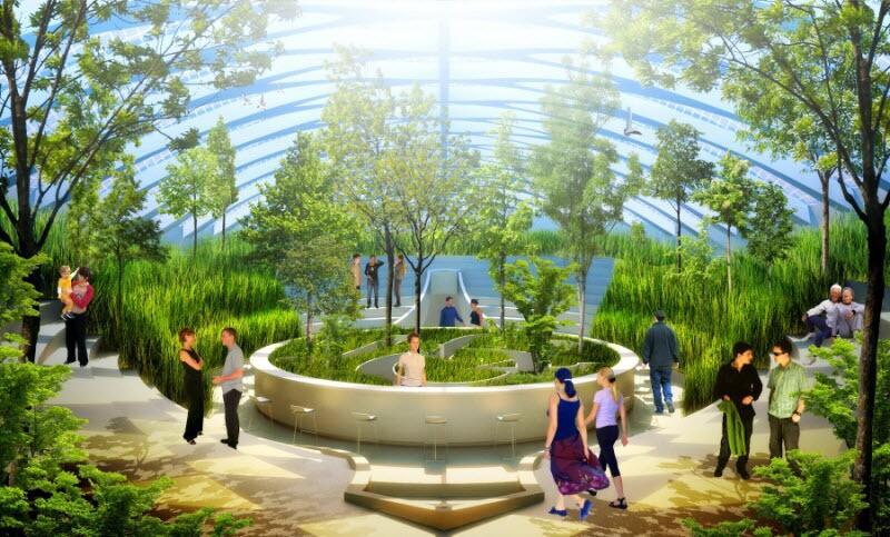Летающие сады и суперъяхты: как будет выглядеть отдых будущего