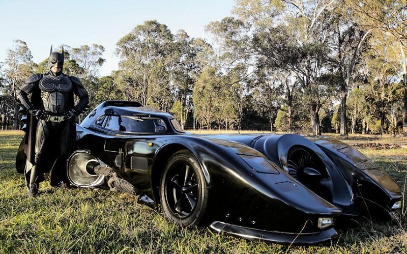 Как создать машину Бэтмена в домашних условиях