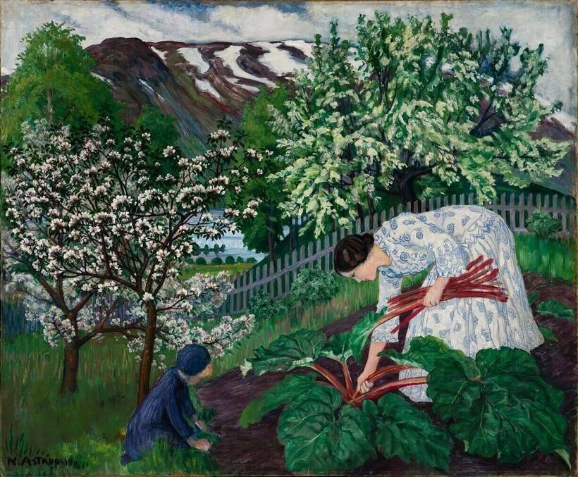 «Ревень», 1911 г. Николай Аструп. Музей искусств, Берген