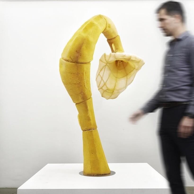 От амфоры до Нефертити: как пчелы помогают скульптору создавать шедевры