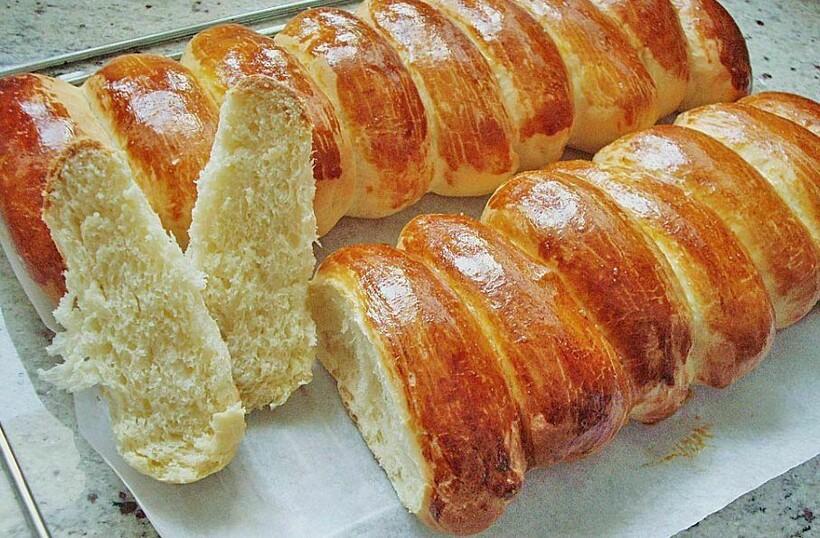 Сладкий даже хлеб