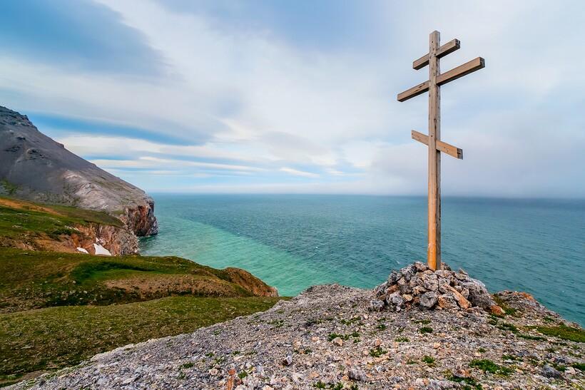 Крест на мысе Дежнева