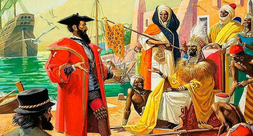 Путешествие Да Гама в Индию