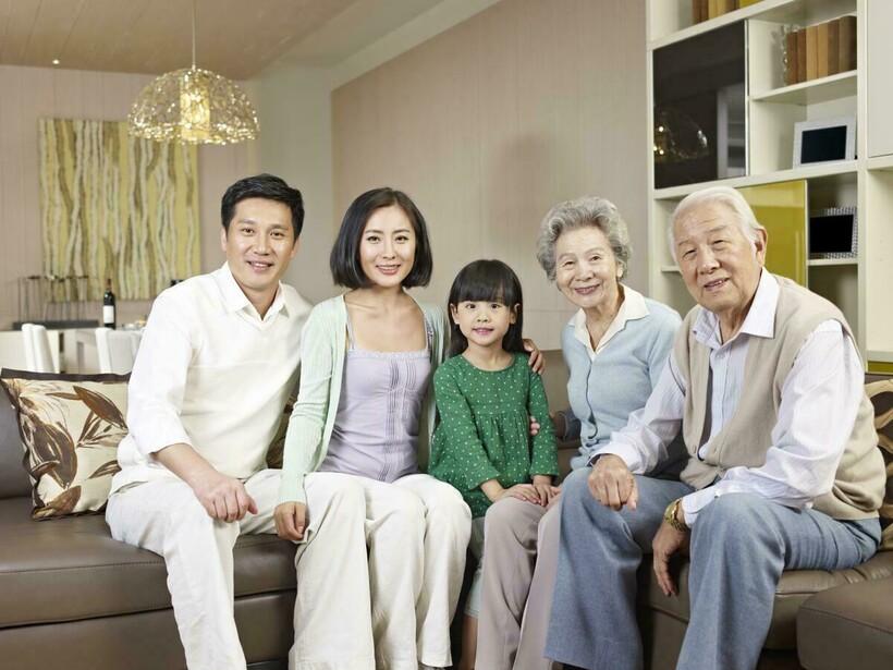 Японская семья