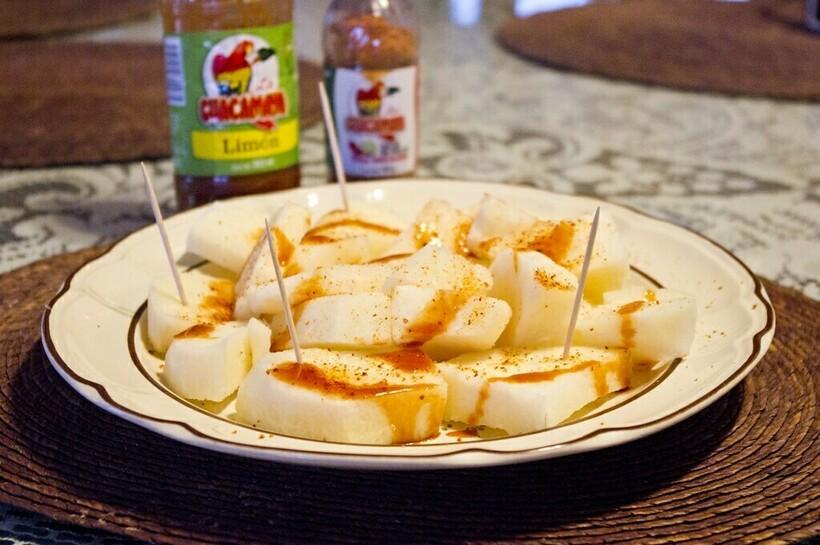 Блюдо из хикамы