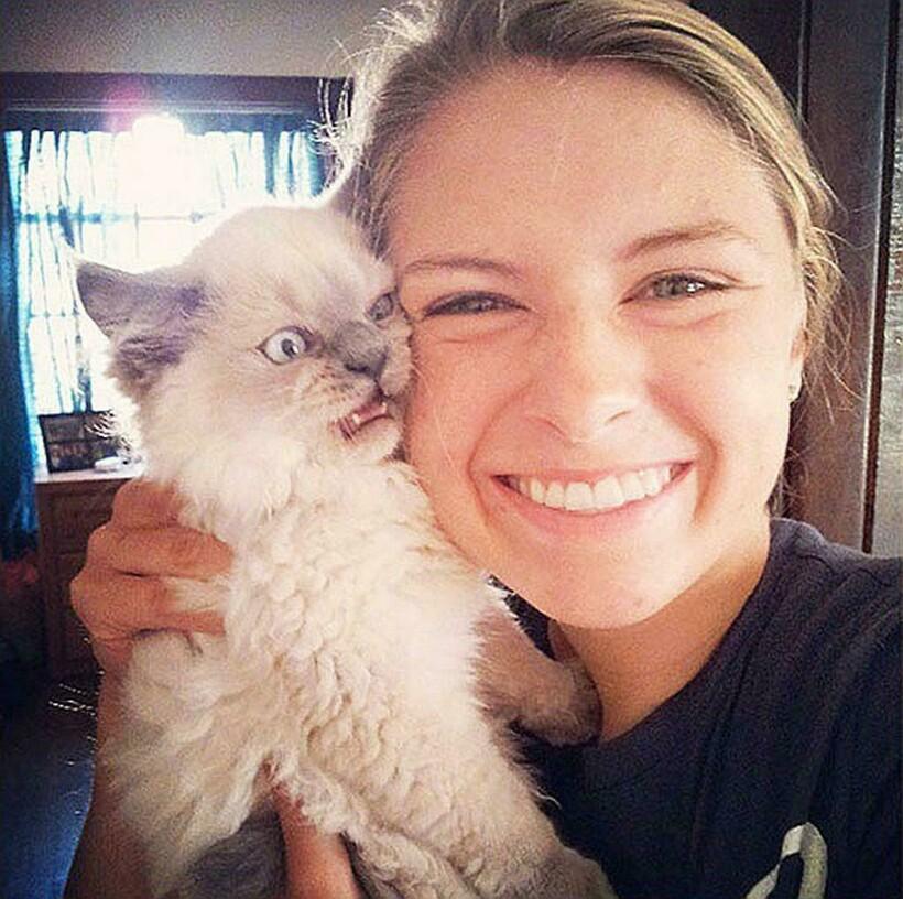 15 смешных котов, которые просто ненавидят объятия