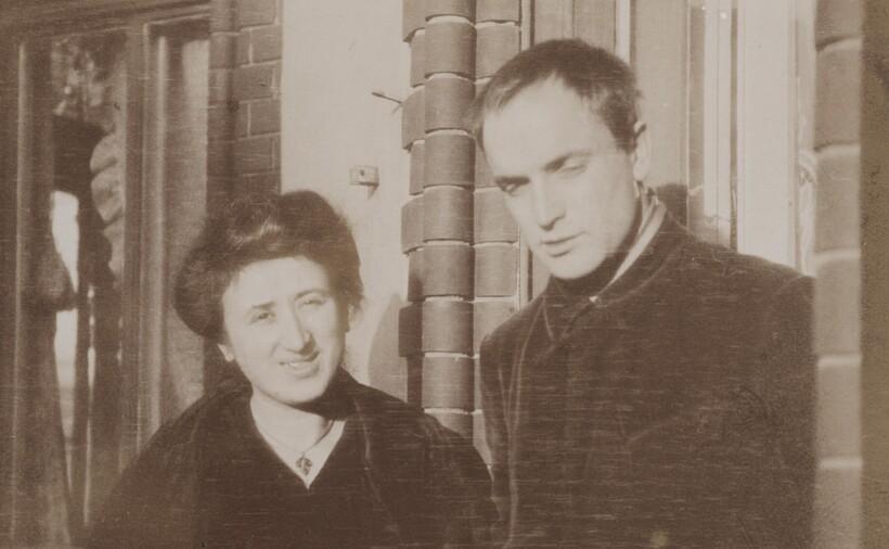 Роза Люксембург и Константин Цеткин, который был моложе на 14 лет