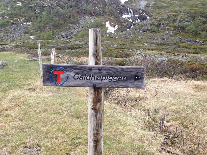 Восхождение на гору Галлхёпигген