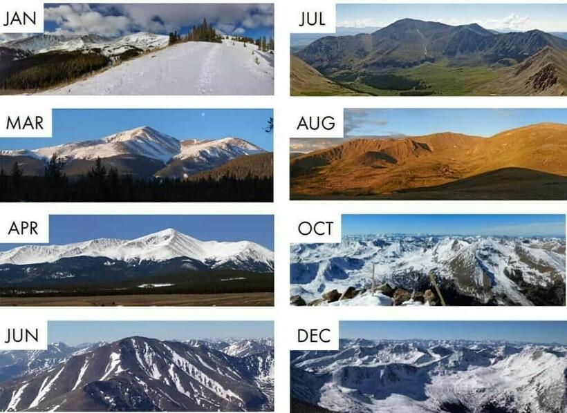 Погода на вершине горы Эльберт