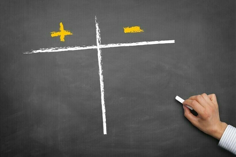Выбор в пользу плюса может быть очередным багом мозга