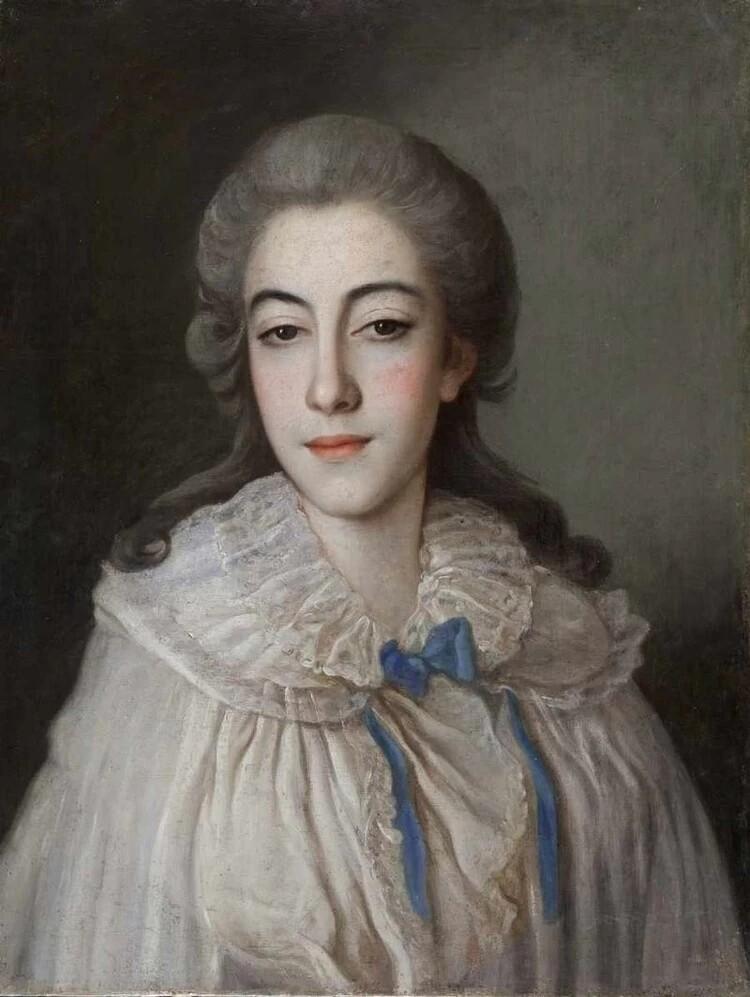 Свадебный портрет супруги полководца Кутузова, 1777 г.