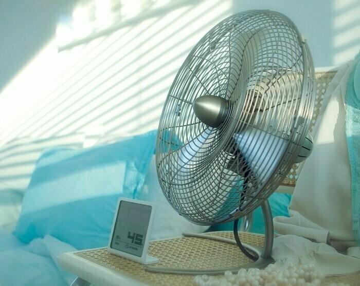 Вентилятор летом — вещь особенно полезная