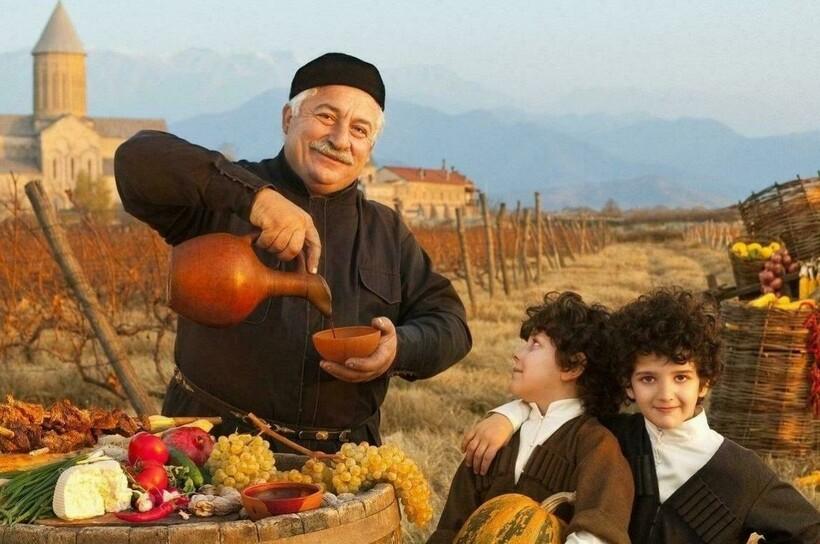 Для грузин гостеприимство — это проявление чести за свою нацию