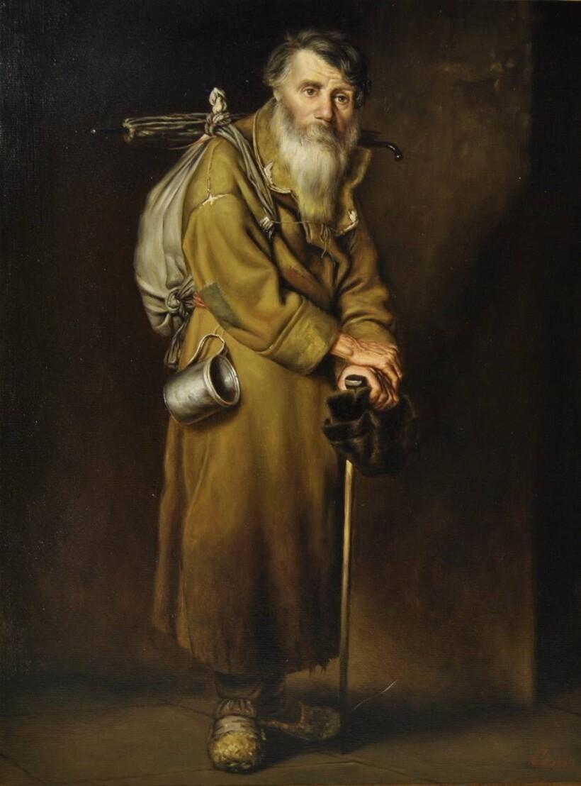 «Странник», 1870 год. Василий Перов
