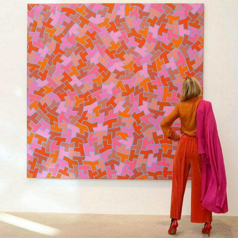 17 изумительных луков от модницы, которая повторяет в одежде картины художников