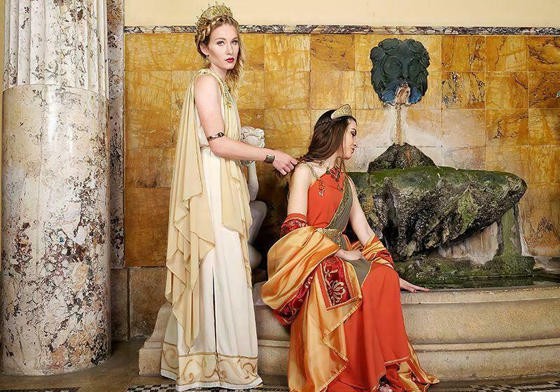 Женщины тогда не стремились вступать в брак. Фото: slavtradition.com
