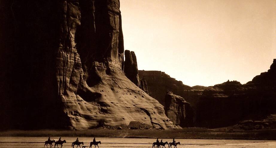Фото дня: индейцы навахо, начало ХХ века