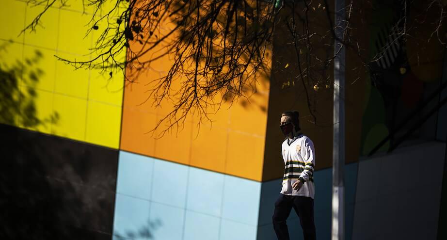 Фото дня: редкий прохожий на улице Мельбурна